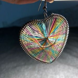 Jewelry - Rainbow Heart Earrings